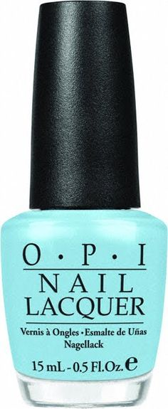 O.P.I. What's With The Cattitude - Tiffany Blue Nail Polish! Come to Luxury Spa & Nails for all of your pampering needs! Call (803) 731-2122 or visit www.luxuryspaandnails.weebly.com for more information!