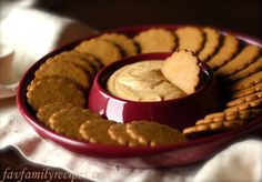 Pumkin Dip for Cookies     Ingredients:  8 oz. cream cheese (softened)  2 cups powdered sugar  1 c. pumpkin  1/2 c. sour cream  1 tsp. cinnamon  1 tsp. pumpkin pie spice  1/2 tsp. ginger    Instructions:  Mix together and refrigerate before serving. Serve with ginger snaps or gingerbread cookies.