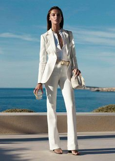 everybody needs a fly white suit