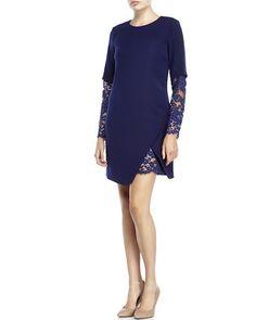 CYNTHIA STEFFE Jolie Lace Inset Dress