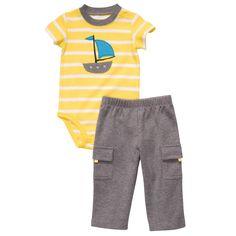 2-Piece Bodysuit Pant Set | Baby Boy New Arrivals