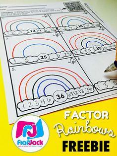 Factor Rainbows FREEBIE More