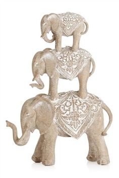 Buy Extra Large Resin Stacking Elephants online today at Next: Australia