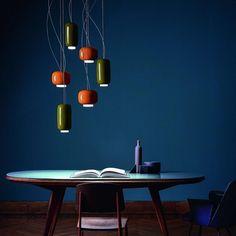 Coleção Chouchin de Ionna Vautrin para a Foscarini no catálogo de produtos da QuartoSala - Home Culture #foscarini #chouchin #ionnavautrin #vidro #lamps #iluminação #interiors #projetos #luminárias #lisboa #instadesign #inspiration #quartosala