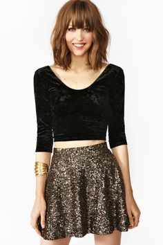 Coven Crop Top... the skirt thoughhhh