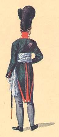 Bavaria: 1st Lieutenant 2nd Light Infantry Battalion Dietfurth: 1806