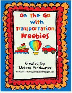 Classroom Freebies Too: Transportation Freebie via McDonalds