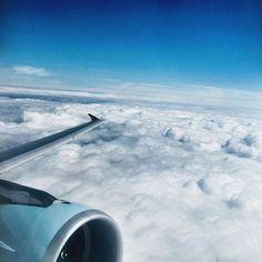 Voltando para casa.. #viagem #aviao #croatiairlines
