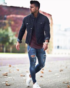 Advice On Buying Fashionable Stylish Clothes – Clothing Looks Preppy Mens Fashion, Mens Fashion Suits, Fashion Outfits, Trendy Outfits, Men With Street Style, Herren Outfit, Men Style Tips, Style Ideas, Mens Clothing Styles