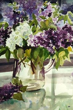 Janis McElmurry WATERCOLOR