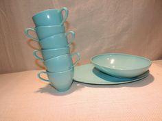 prolon-melmac-dinnerwear-turquoise-set