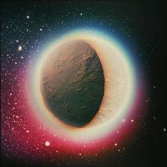 Crescent  #3d #3dart #render #rendering #design #artwork #planet #scifi #scifiart #sciencefiction #fantasy #fantasyart #colors #galaxy #universe #futuristic #future #space #spacetravel #stars #sky #starrynight #atmosphere #moon #crescent #waxingmoon #terragen #thegraphicspr0ject #dream #dreamy