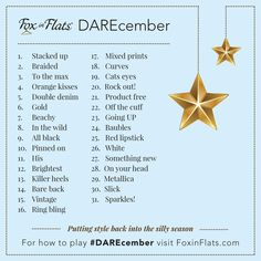 #DAREcember give it a go!