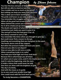 Gymnastics quote!