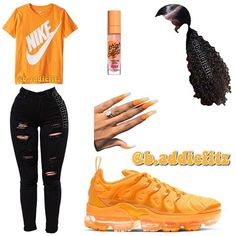 baddie outfits for school Nike Outfits, Outfits Teenager Mädchen, Swag Outfits For Girls, Casual Outfits For Teens, Cute Comfy Outfits, Teenage Girl Outfits, Cute Casual Outfits, Teen Fashion Outfits, Sporty Outfits