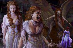 Vampire Bride, Vampire Queen, Vampire Girls, Vampire Art, Dark Fantasy Art, Fantasy Artwork, Desenhos Halloween, Tim Burton Style, Chica Fantasy