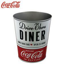 Doural Presentes Cozinha : Lixeira 23 x26cm, Diner - Coca Cola Cód.:CO09506S