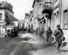 9th Infantry Division in Remagen