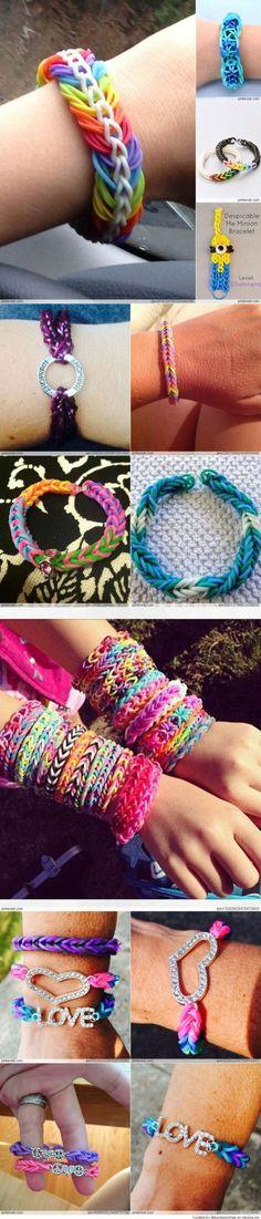 Rainbow Loom Ideas by rowena