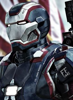 Iron Patriot by HeroforPain.deviantart.com on @deviantART