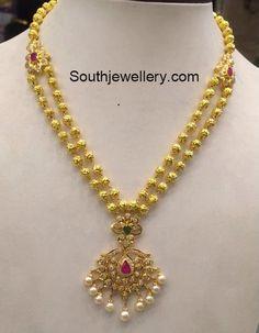 32 Grams Antique Gold Necklace photo