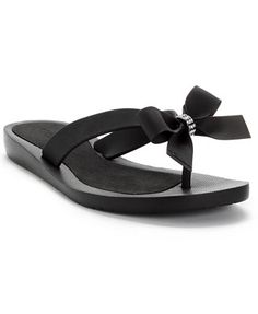 GUESS Tutu Bow Flip Flops u have to follow link, got these in navy...cute