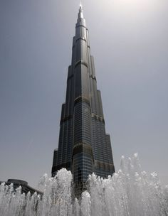 Burj Khalifa from bottom to top.