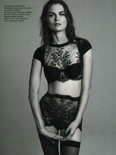 La Perla Neoprene Desire set in Le Vif Express  November 15 issue