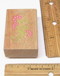 FLORISHED FLOWERS FLORALS BY SCRAPPY CA Rubber Stamp   #SCRAPPYCAT #regular