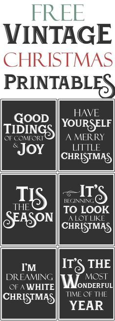Free Vintage Farmhouse Christmas Printables.jpg