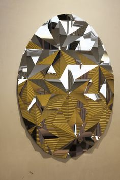 Mirror by Ilan Garibi  #milandesignweek2015 #brandnewworld