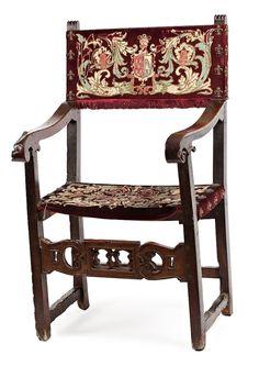 Renacimiento en espa a sillon frailero mitad del s xv y fines del xvi asientos pinterest - Muebles marroquies en madrid ...