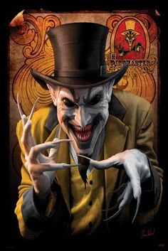 """Art Gallery and Online Store for Tom Wood""""s fantasy artworks, including his famous Dragons and depictions of the Insane Clown Posse - ICP. Haunted Carnival, Creepy Carnival, Gruseliger Clown, Creepy Clown, Clown Mask, Creepy Circus, Clown Costumes, Carnival Costumes, Arte Horror"""
