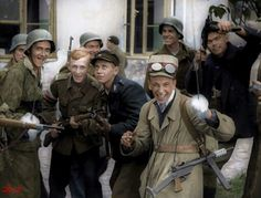 """Warsaw Uprising"" – the world's first non-fiction war drama « Link to Poland Warsaw Ghetto Uprising, Poland Ww2, Poland History, German Boys, German Army, Non Fiction, Red Army, History Photos, Military History"