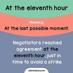 En el último minuto