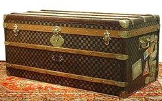 LV trunk. Can't wait to have this, such an awesome piece for a home!
