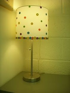 button lamp!!