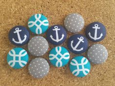 Check out this item in my Etsy shop https://www.etsy.com/listing/386315902/thumbtack-set-12-pc-push-pin-set