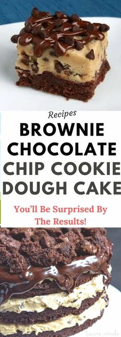 This decadent Brownie Chocolate Chip Cookie Dough Cake is a chocolate dessert recipe that you don't want to miss! Today's Brownie Chocolate Chip Cookie Dough Cake was a labor of love. Last year for his birthday my guy requested a cake that combined two of the things that he loves most, brownies and chocolate chips cookies. Well […]