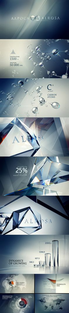 motion graphics/ storyboards/ styleframes | Aapoca Alrosa by Andrew Serkin