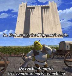 Shrek was a lot dirtier than I remember...