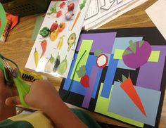 Mrs. Knight's Smartest Artists: Vegetables by Matisse