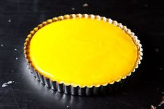 Lemon Tart with Olive Oil #food52