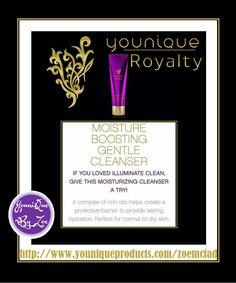 AWASH IN HYDRATION An intense boost of smoothing nourishment and protection. Soothe and moisturize your skin with the rich, creamy Younique Royalty Moisture Boosting Gentle Cleanser. A combination of oils helps create a protective barrier and provide lasting hydration. Perfect for normal to dry skin.  #younique #youniqueroyalty #skincare #australia #newzealand #germany #spain #france #canada #usa #england #mexico #hongkong #beauty #makeup #cosmetics
