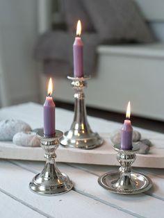 Mini Metal Candlesticks
