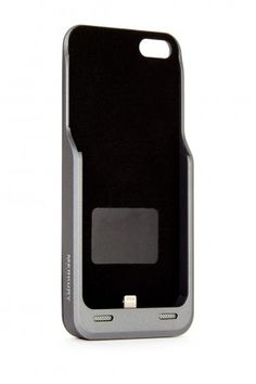 Silver MFI iPhone 5 and 5S PowerCase - 2000 MAH