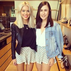 "124 Likes, 11 Comments - Laura Jade Stone (@laurajadestone) on Instagram: ""Going to miss this sassy gal 🍆 😥 @madddmaz #shesleavingme  #lastdaytogether #shortshorts"""