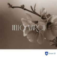 New Month new experiences! #welcome #march #onionid #followus