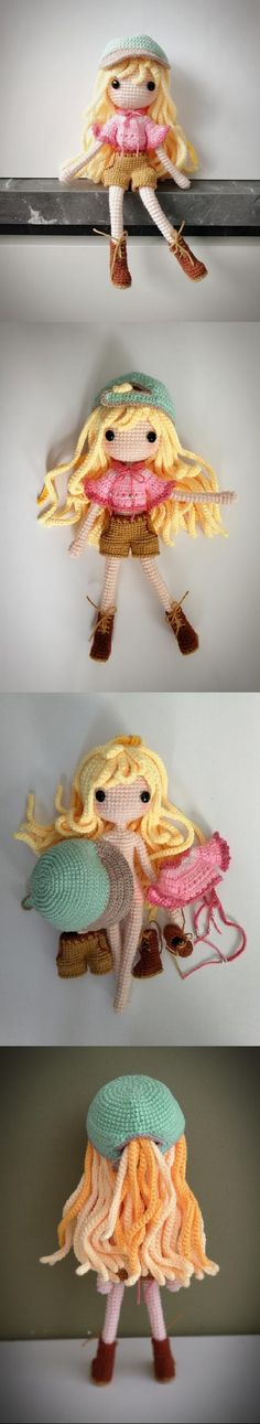Reyla The Adventuress Amigurumi Pattern