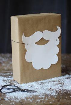 Weihnachtsmannverpackung